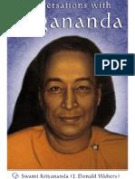 Conversations With Yogananda - Swami Kriyananda (J.3. Donald Walters)