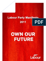 2011 Labour Party Manifesto