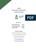 Cover Laporan Praktik Kerja Industri