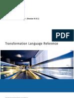 PC 901 Transformation Language Reference En