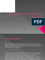 Role-Playing as a Teaching Strategy