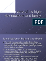 Highrisk Newborn and PRETERM (1)