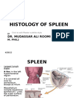 Histology of Spleen by Dr Roomi (26!04!12)