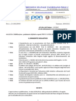 Decreto Graduatorie Definitive Pon-c1 Fse-2011-3088