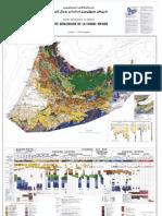 Carte géologique de la chaîne rifaine 500000