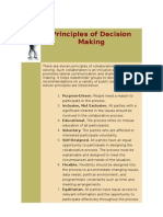 Principles of Decision Making