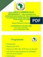 Accords Commerciaux Regionaux - Perspective Africaine
