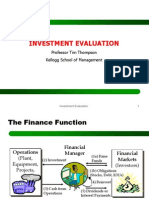Investment Evaluation Abridged