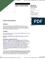 IBM IBM System Storage N Series Data ONTAP Matrix - United States