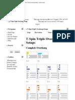 T-Spin Triple Overhang Setups - Tetrisconcept