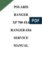 Polaris Ranger XP 700 4x4 - 6x6 07 - Service Manual