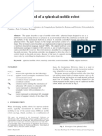 D007 Design and Control of a Spherical Mobile Robot by J Alves and J Dias