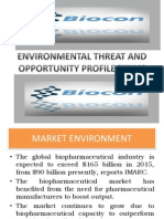 Environmental Threat and Opportunity Profile (Etop)