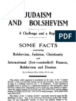 A. Homer--Judaism & Bolshevism--Some Facts (1933)