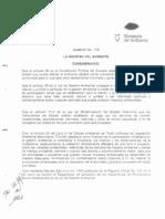 Decreto Ejecutivo 1040 Ministerio de Ambiente