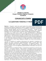 Comunicato Cobellis 26 Aprile_forestali