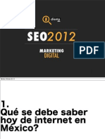 Presentacion CLIENTO 2012 Marketing en Internet, SEO en México, Posicionamiento WEB