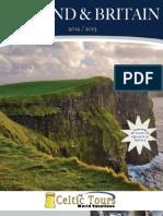 Celtic Tours Ireland Brochure