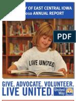 UWECI Annual Report 2009-2010