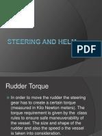 Steering and Helm Rudder Presentation