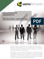 CURSO UNIVERSITARIO DE ESPECIALIZACION EN DIRECCIÓN COMERCIAL