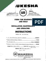 37551626 Stern Tube Bearings and Seal Installation Maintanance and Repair