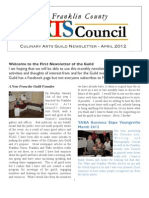 FCAC CAG 042012 Newsletter