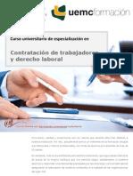 CURSO UNIVERSITARIO DE ESPECIALIZACIÓN EN CONTRATACIÓN DE TRABAJADORES Y DERECHO LABORAL