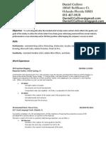 DCulliver Resume