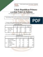 In Sen Gop Primary Poll Topline Summary Report 4-26-2012