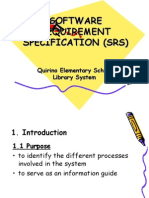 Software Requirement Specification (Srs)-Prelims