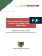 Nro 2-03 Del Transgenerismo