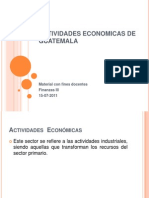 Actividades Economic As Presentacion Clase 15 Julio 2011