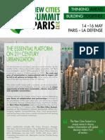 New Cities Summit Brochure 2012