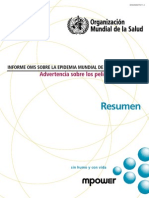 Informe 2011 OMS-WHO