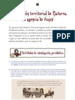 Evolución territorial de Navarra. La agencia de viajes