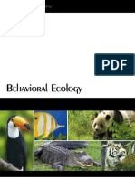 International Journal of Zoology-Focus Issue-Behavioral Ecology-2011