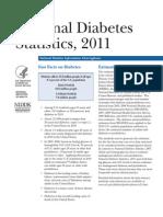 NIH Diabetes Stats - 2011