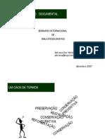PRESERVAÇÃO DOCUMENTAL