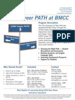 BMCC Career Training Grant EMT Course
