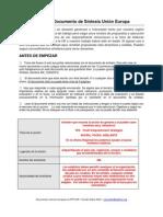 Check List Documento de Síntesis