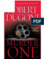 Murder One - eBook $1.99 starting May 8th!