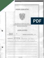 Proyecto de Ley Codigo Contravencional Provincial
