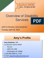 Autism NOW Webinar April 24, 2012