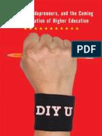 Chapter 3 - Economics, An Excerpt from DIY U