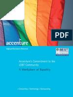 Accenture Lesbian Gay Bisexual Transgender