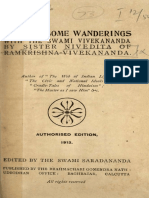 Notes of Some wanderings With the Swami Vivekananda - by Sister Nivedita