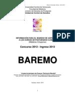 BAREMO2012