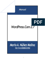 Manual WordPress.com 2.7