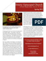 Spring 2012 Trinity Seasonal Newsletter